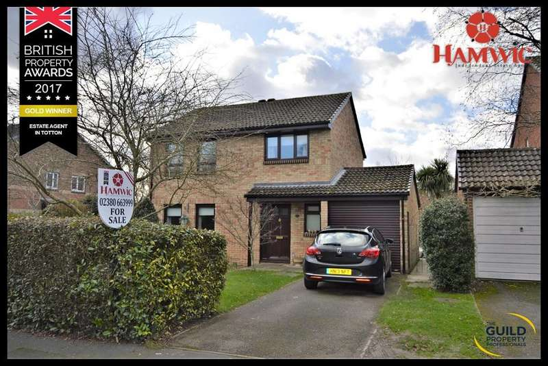 4 Bedrooms Detached House for sale in Kingsley Gardens, Totton, Southampton SO40