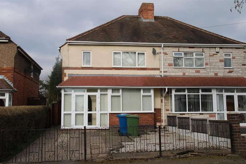 3 Bedrooms Semi Detached House for sale in Jonkel Avenue, Hockley, Tamworth