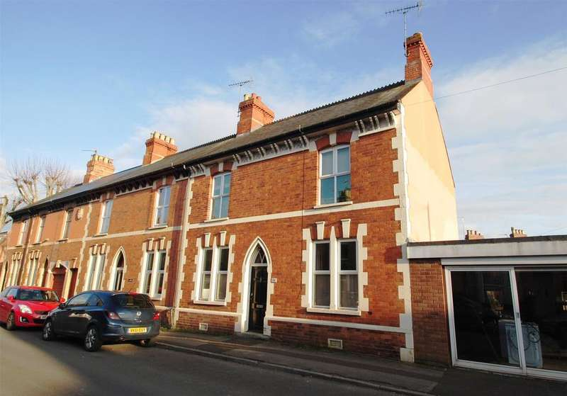 4 Bedrooms Terraced House for sale in Gladstone Street, Taunton