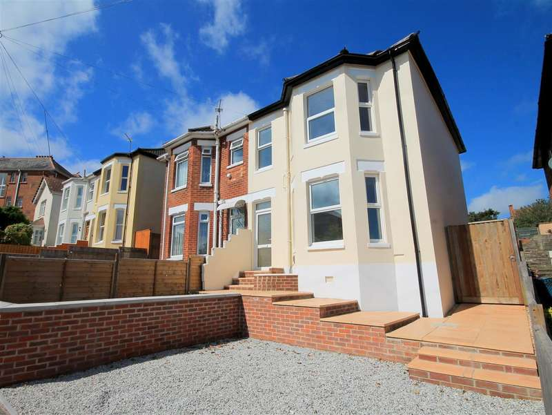 3 Bedrooms Semi Detached House for sale in Library Road, Parkstone, Poole