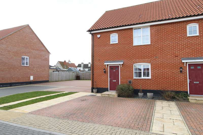 3 Bedrooms Semi Detached House for sale in Barrow IP29