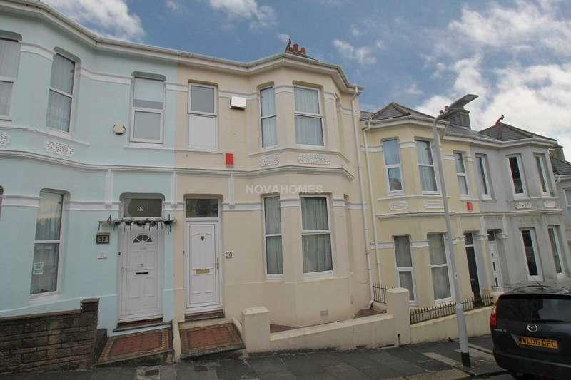 2 Bedrooms Terraced House for sale in Craven Avenue, St Judes, PL4 8SJ