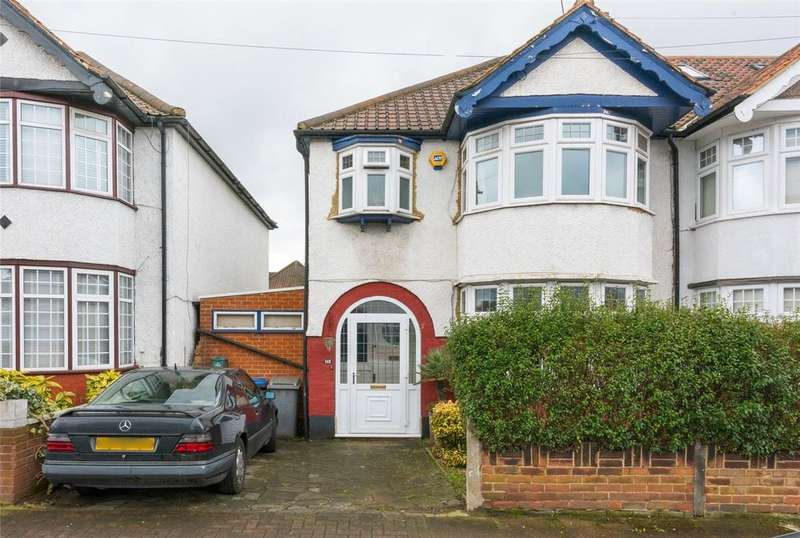 3 Bedrooms Semi Detached House for sale in Dewsbury Road, London, NW10