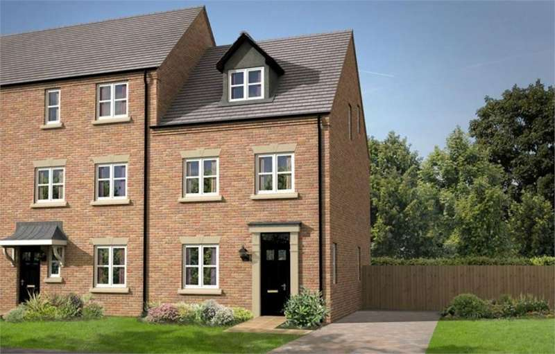 3 Bedrooms Semi Detached House for sale in Gibfield Road, Waterside Village, St Helens, Merseyside