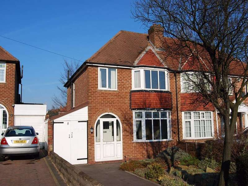 3 Bedrooms Semi Detached House for rent in Banners Gate Road, Sutton Coldfield, West Midlands