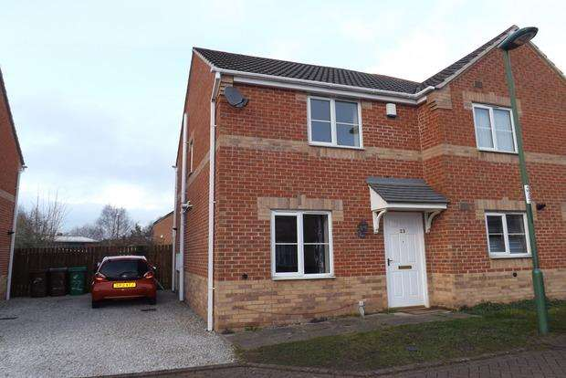 2 Bedrooms Semi Detached House for sale in Weave Close, Basford, Nottingham, NG6