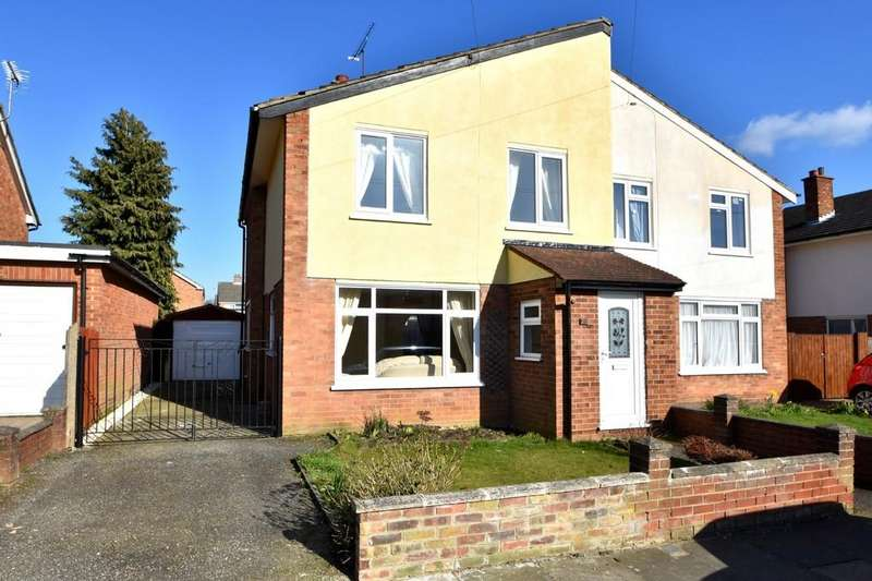 3 Bedrooms Semi Detached House for sale in Lonsdale Close, Ipswich, IP4 4HB