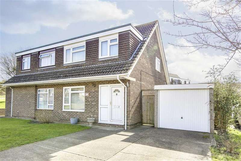 3 Bedrooms Semi Detached House for sale in Jubilee Gardens, Seaford