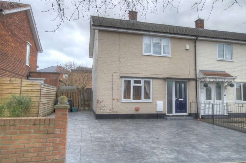 2 Bedrooms End Of Terrace House for sale in Welbeck Avenue, Darlington, DL1