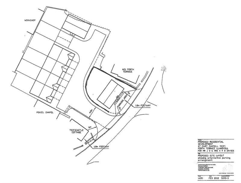 Land Commercial for sale in Land At Cwrt Castell Teifi, New Road, North Carmarthenshire, Llandysul