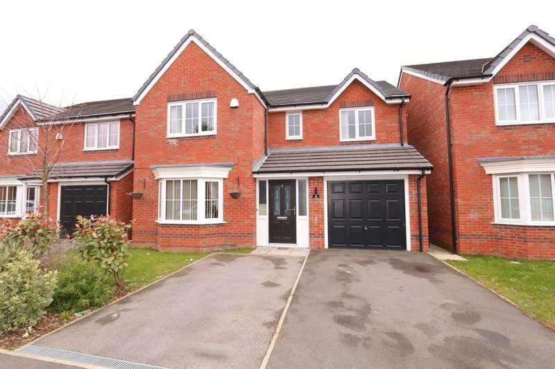 4 Bedrooms Detached House for sale in Greenwood Close, Audenshaw, Manchester, M34