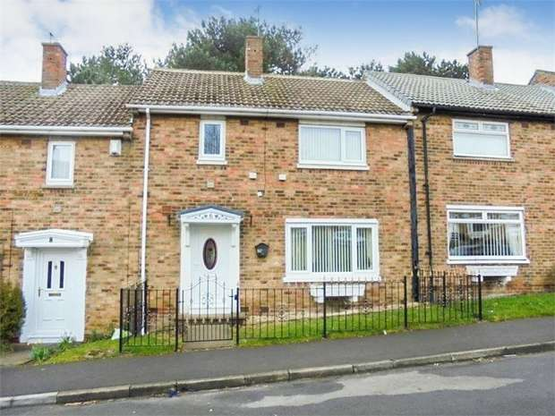 3 Bedrooms Terraced House for sale in Franklyn Road, Peterlee, Durham