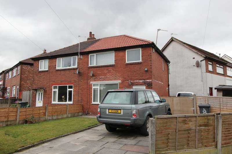 3 Bedrooms Semi Detached House for sale in Burns Road, Little Hulton, Manchester, M38