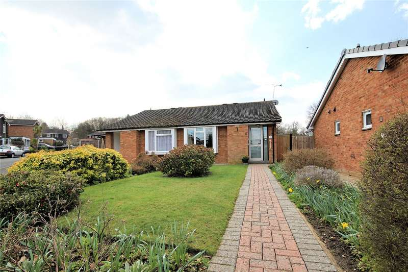 2 Bedrooms Semi Detached Bungalow for sale in Greythorne Road, Woking, Surrey, GU21