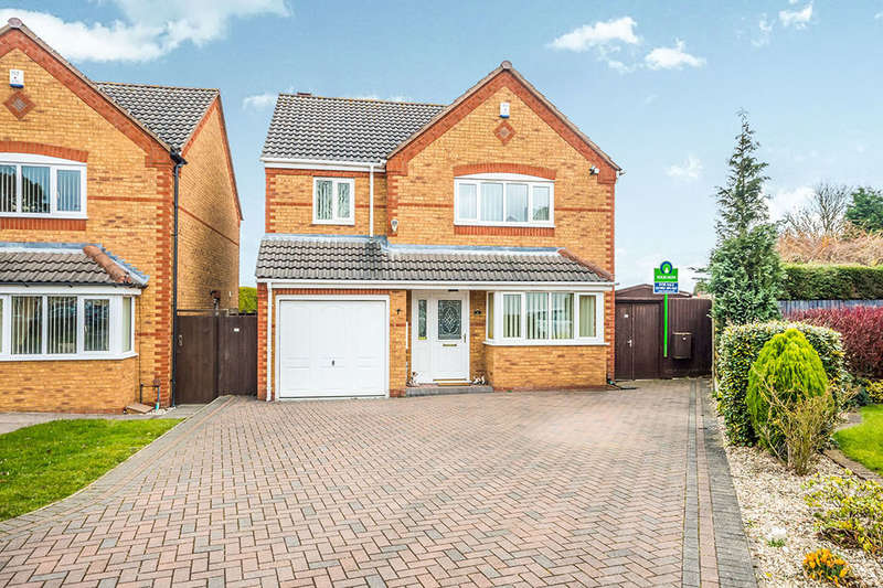 4 Bedrooms Detached House for sale in Suffolk Close, Wednesfield, Wolverhampton, WV11
