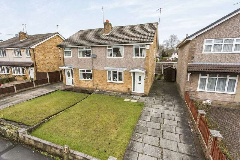 3 Bedrooms Semi Detached House for sale in Harewood Way, Macclesfield, SK11