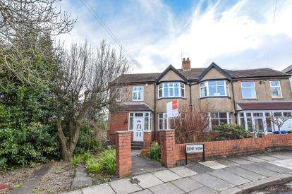 5 Bedrooms Semi Detached House for sale in Dene View, Gosforth, Newcastle Upon Tyne, Tyne and Wear, NE3