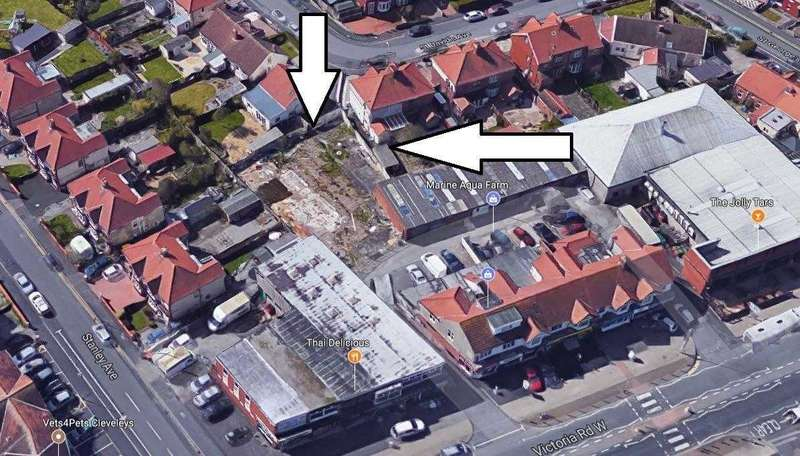 Land Commercial for sale in St Davids Avenue, Thornton-Cleveleys