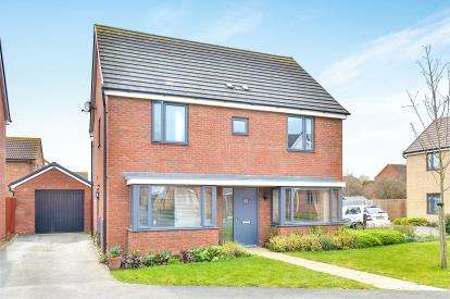 4 Bedrooms Detached House for sale in Ellis Close, Wootton, Bedford, Bedfordshire
