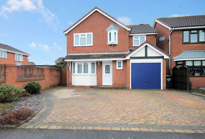 4 Bedrooms Detached House for sale in Cornwall Avenue, Fazeley, Tamworth, B78 3YB