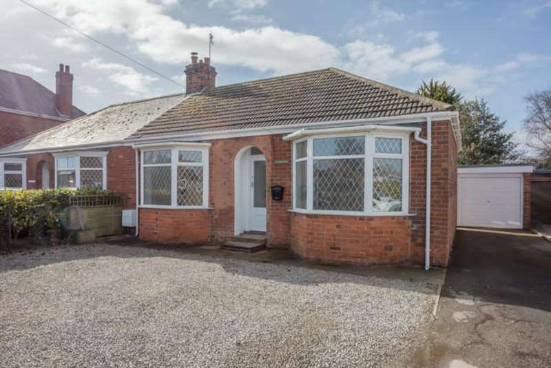 2 Bedrooms Bungalow for sale in Ottringham Road, Keyingham, East Yorkshire, HU12