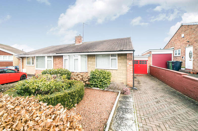 2 Bedrooms Semi Detached Bungalow for sale in The Meadows, Ryton, NE40