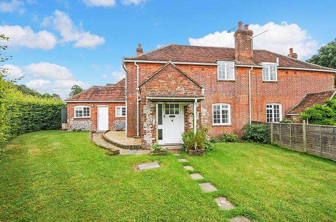 3 Bedrooms Semi Detached House for sale in Garden Cottages, West Stoke House, Downs Road, West Stoke PO18