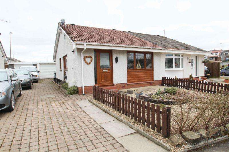 2 Bedrooms Semi Detached Bungalow for sale in Bodmin Gardens, Glasgow