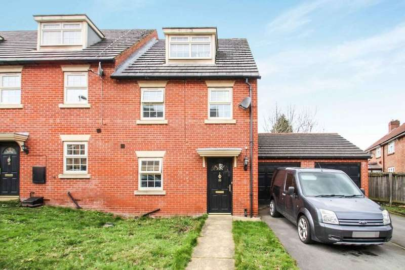 3 Bedrooms End Of Terrace House for sale in Raynville Way, Bramley, Leeds