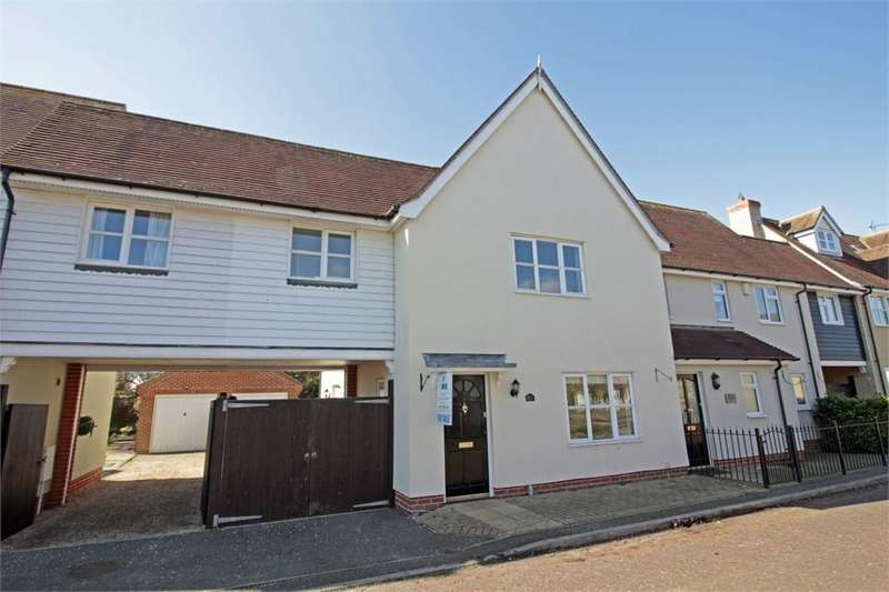 3 Bedrooms Terraced House for sale in Archer Crescent, Tiptree, Essex