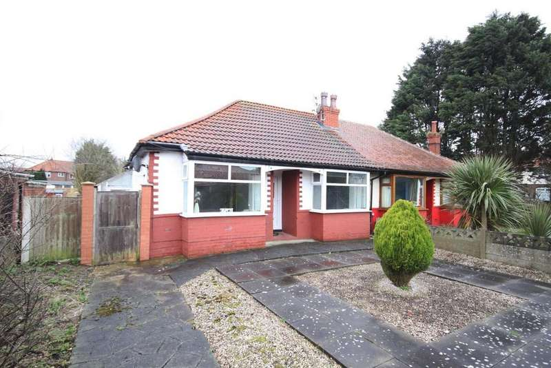 2 Bedrooms Semi Detached Bungalow for sale in Sandbrook Road, Ainsdale, Southport, PR8 3JF