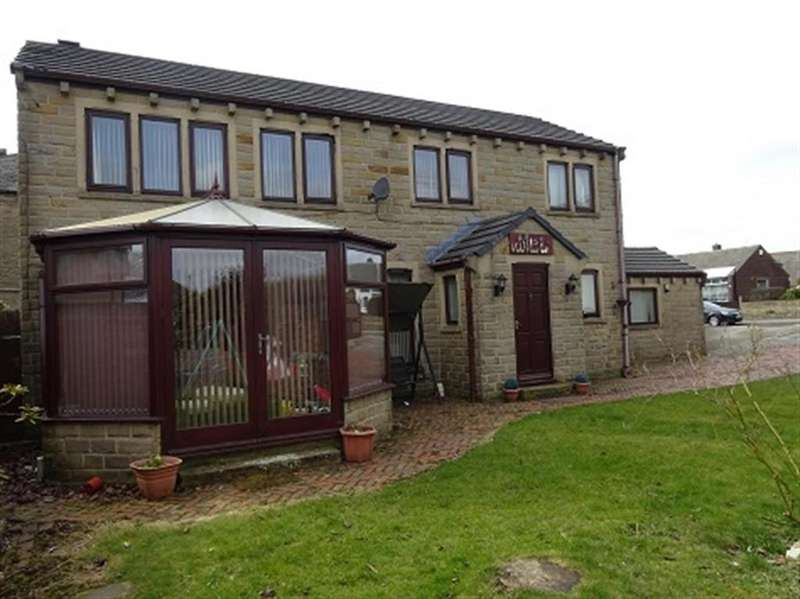 4 Bedrooms Detached House for sale in Hollinbank Lane, Heckmondwike, WF16 9NH