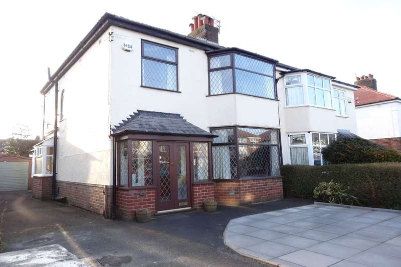 3 Bedrooms Semi Detached House for sale in Marina Drive, Fulwood, Preston, PR2