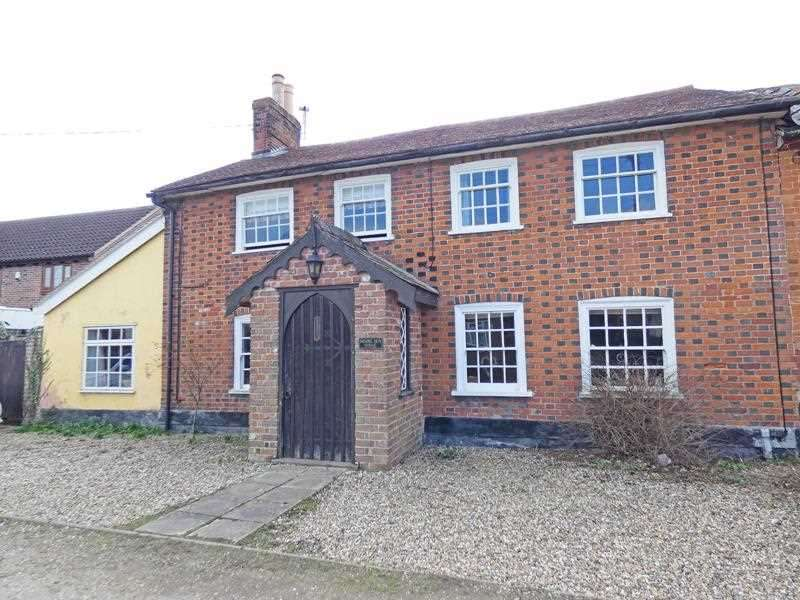 4 Bedrooms Cottage House for sale in Rising Sun House, Rising Sun Hill, Rattlesden, BURY ST. EDMUNDS IP30 0SP