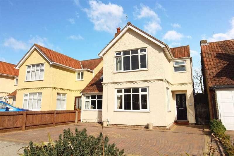 4 Bedrooms Detached House for sale in Goring Road, Ipswich