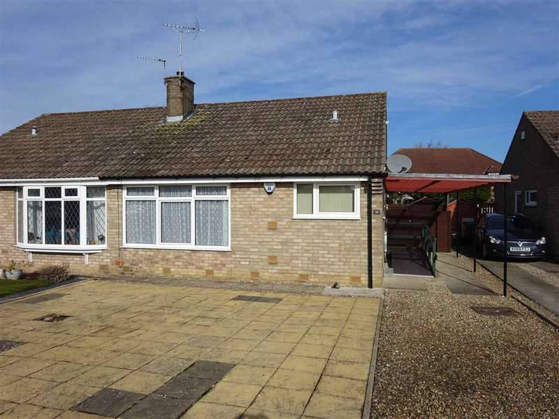 2 Bedrooms Semi Detached Bungalow for sale in Allendale, Woodthorpe, York