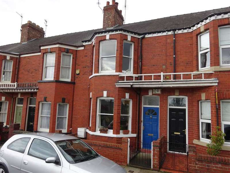 3 Bedrooms Terraced House for sale in Knavesmire Crescent, Southbank, York