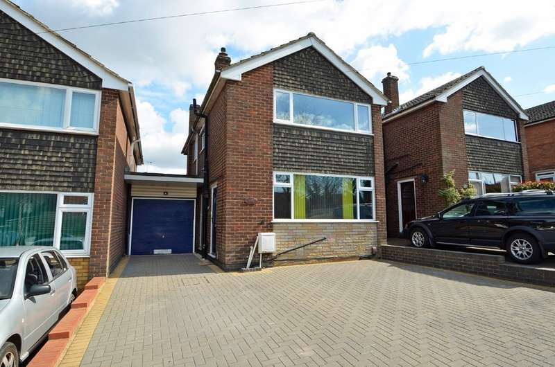 3 Bedrooms Link Detached House for sale in Lawford Lane, Bilton, Rugby