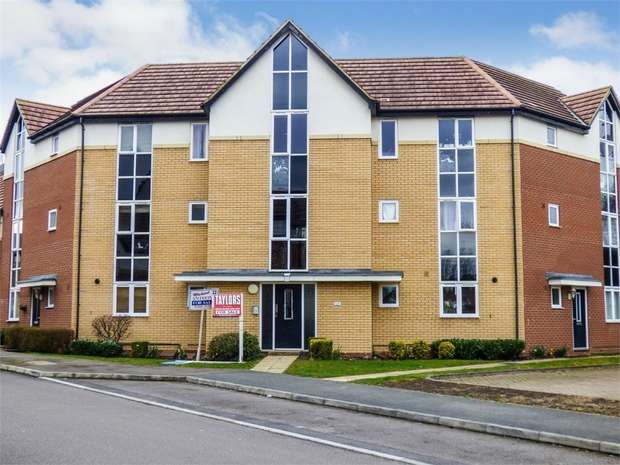 2 Bedrooms Flat for sale in Sakura Walk, Willen Park, Milton Keynes, Buckinghamshire