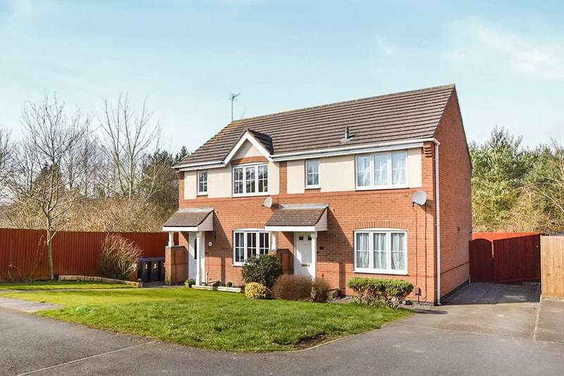 3 Bedrooms Semi Detached House for sale in Daisy Close, Groby, Leicester, LE6