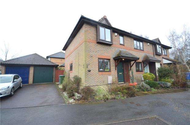 2 Bedrooms End Of Terrace House for sale in Cooke Rise, Warfield