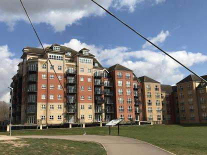1 Bedroom Flat for sale in Britannia House, Palgrave Road, Bedford, Bedfordshire