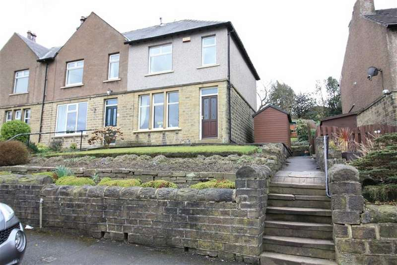 3 Bedrooms End Of Terrace House for sale in Banks Road, Linthwaite, Huddersfield