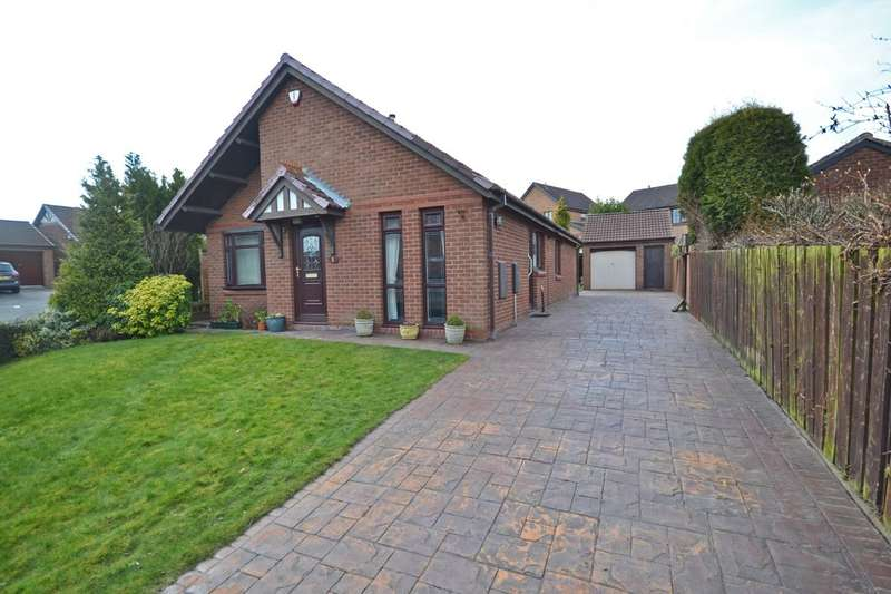 3 Bedrooms Detached Bungalow for sale in Kendal Rise, Walton, Wakefield