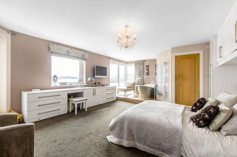 2 Bedrooms Flat for sale in Jamestown Way, Canary Wharf, E14