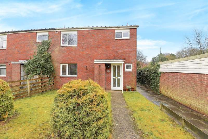 3 Bedrooms End Of Terrace House for sale in Holst Close, Brighton Hill, Basingstoke, RG22