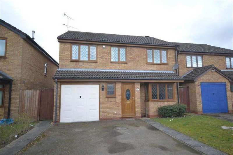 4 Bedrooms Detached House for sale in Barons Croft, Stockingford, Nuneaton