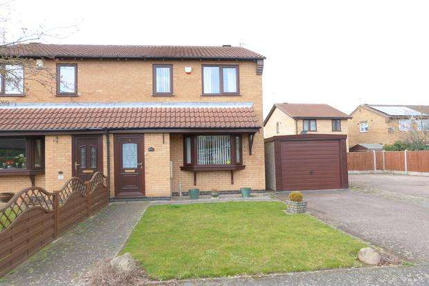 3 Bedrooms Semi Detached House for sale in Paddock View, Syston, Leicester, LE7