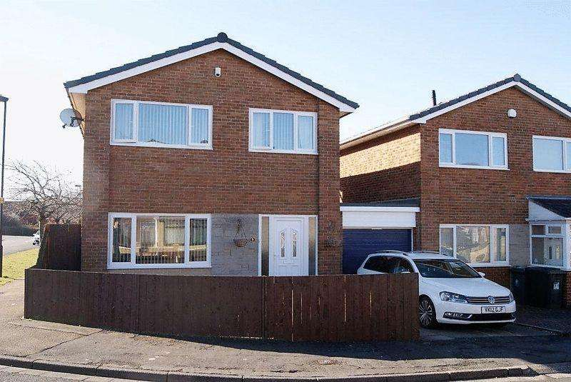 3 Bedrooms Detached House for sale in Agincourt, Killingworth