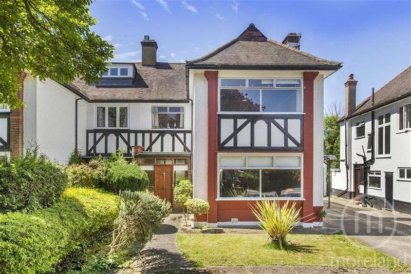 4 Bedrooms Semi Detached House for sale in Hodford Road, Golders Green, NW11